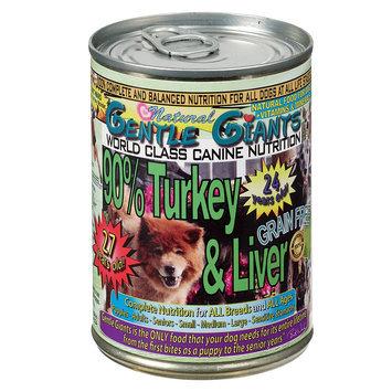 Gentle Giants Dog Food - Natural, Turkey, 12ct Case size: 13 Oz