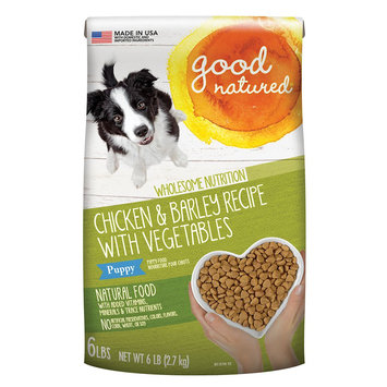 Good Natured, Puppy Food - Natural, Chicken and Barley size: 6 Lb