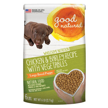 Good Natured, Large Breed Puppy Food - Natural, Chicken and Barley size: 6 Lb