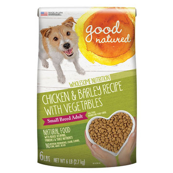Good Natured, Small Breed Adult Dog Food - Natural, Chicken and Barley size: 6 Lb