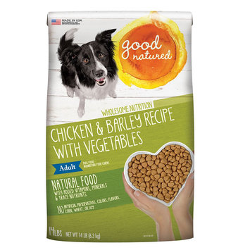 Good Natured, Adult Dog Food - Natural, Chicken and Barley size: 14 Lb