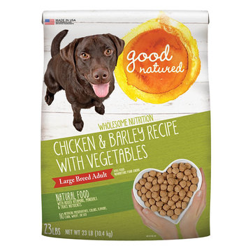 Good Natured, Large Breed Adult - Natural, Chicken and Barley size: 23 Lb