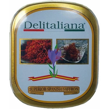 Pure Spanish Saffron Tin 1-Gram Superior Quality Category I