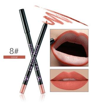 Vinjeely 12 Colors Professional Lipliner Makeup Waterproof Lip Liner Pencil