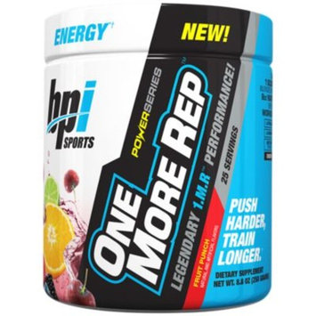 ONE MORE REP - FRUIT PUNCH by BPI Sports at the Vitamin Shoppe