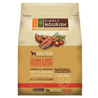 Simply Nourish, Limited Ingredient Diet Dog Food - Natural, Salmon and Sweet Potato Recipe size: 11 Lb, Salmon & Sweet Potato, Adult