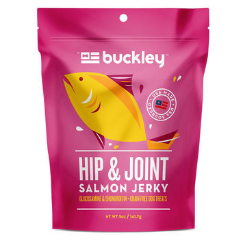 Buckley Hip and Joint Jerky Dog Treat - Grain Free size: 5 Oz