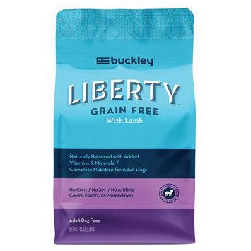 Buckley Liberty Adult Dog Food - Natural, Grain Free size: 4 Lb