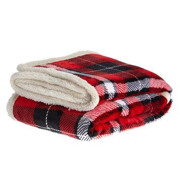 PetSmart Holiday Plaid Pet Blanket size: 50