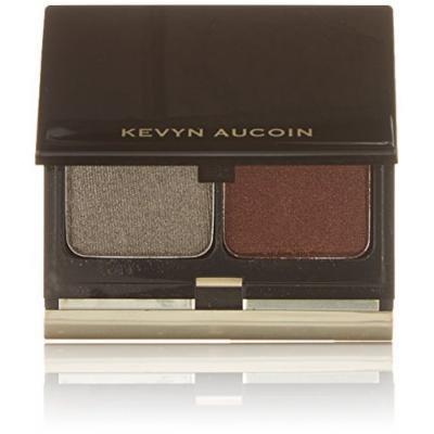 Kevyn Aucoin The Eye Shadow Duo - # 204 Gold Frosted Leaf/ Auburn Shimmer 4.8g/0.16oz