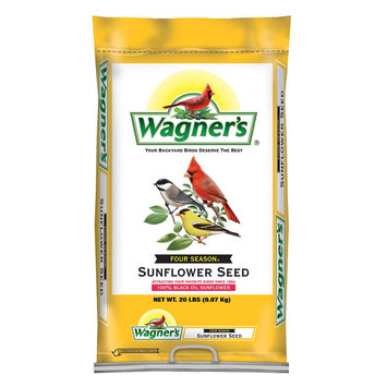 Wagner's Wildlife Food 20 lb. Four Season Sunflower Seed Wild Bird Food 76026
