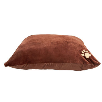 Grreat Choice Paw Pillow Pet Bed, Brown