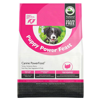 Only Natural Pet Puppy Power Feast Powerfood 13 lb Bag