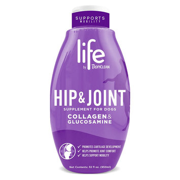 TropiClean Life, Hip and Joint Collagen and Glucosamine Dog Supplement