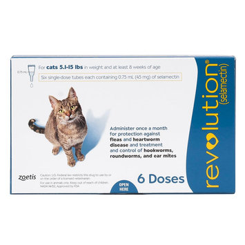Revolution for Cats 5-15 lbs size: 6 Count