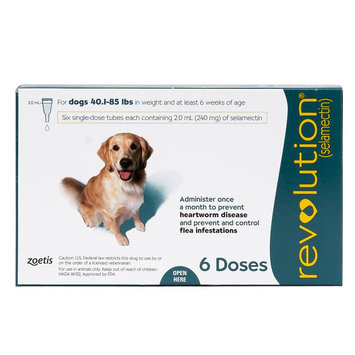 Revolution for Dogs 41-85 lbs size: 6 Count