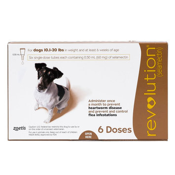Revolution for Dogs 11-20 lbs size: 6 Count