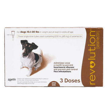 Revolution for Dogs 11-20 lbs size: 3 Count