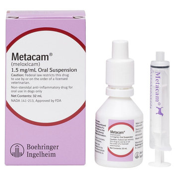 Metacam Anti-Inflammatory Oral Suspension For Dogs size: 1.5mg/mL 32 mL