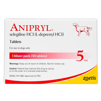 Anipryl Tablet size: 5 mg