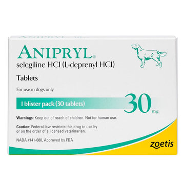 Anipryl Tablet size: 30 mg