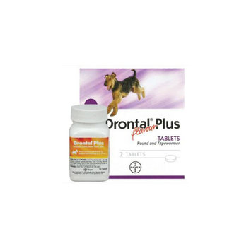 Drontal Plus for Dogs Chewable Tablet size: 136 mg