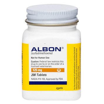 Albon Tablet size: 125 mg