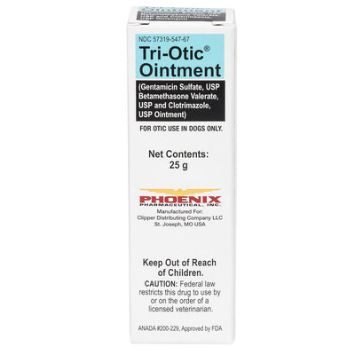 Tri-Otic Ointment (Generic to Otomax) size: 25 gm