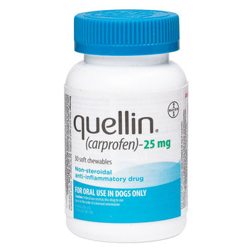Quellin Soft Chews (carprofen) size: 25 mg