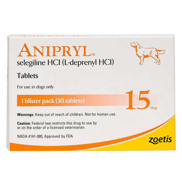 Anipryl Tablet size: 15 mg