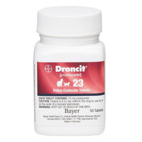 Droncit Dewormer for Cats size: 23 mg