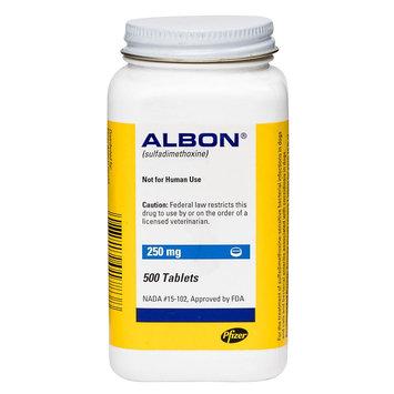 Albon Tablet size: 250 mg