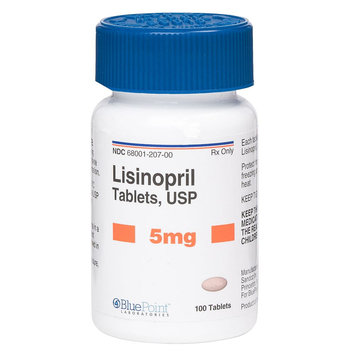 Lisinopril Tablet (Generic to Prinivil and Zestril) size: 5 mg