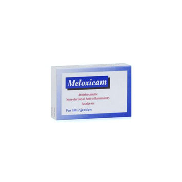 Meloxicam Injectable Solution size: 10 cc 0.5mg/mL