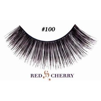 Red Cherry False Eyelashes (Pack of 10 pairs) (100)