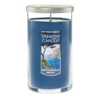 Yankee Candle(R) Mediterranean Breeze Perfect Pillar 12 Ounce, Dark Blue