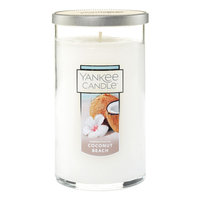 Yankee Candle(R) Coconut Beach 12oz. Perfect Pillar 12 Ounce, White