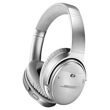 Boser Bose Quietcomfort 35 Acoustic Noise Cancelling Bluetooth Headphones Ii, Size One Size - Metallic