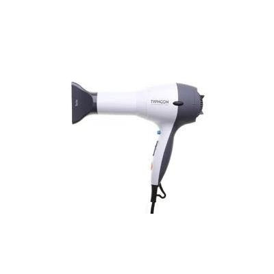 Tyche Typhoon Professional 1875 Professional Ceramic Hair Dryer with Accessories - White