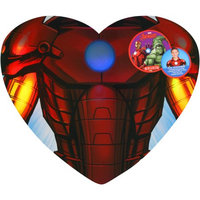 Frankford Candy Llc Frankford Marvel Avengers Iron Man Body Heart Valentine's Gift Set, 3 pc