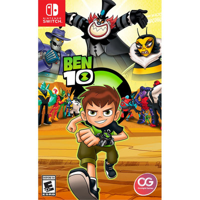 Ui Entertainment Ben 10 Nintendo Switch