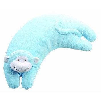 Angel Dear Pillow, Bright Blue Monkey