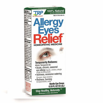 THE Relief Products Allergy Eye Drops for Temporary Relief of Itching Watering Burning Swelling, 0.33 Fl. Oz