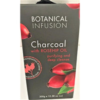 Botanical Infusion Rejuvenating Charcoal with Rosehip Oil Purifying Soap, 10.58 oz.