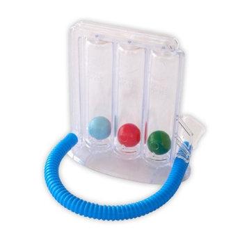 HealthAndYoga(TM) Deep Breathing Exerciser   Breath Exercise Measurement System