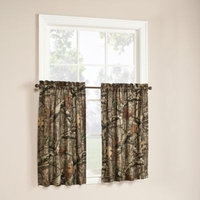 Mossy Oak Break Up Infinity 36-Inch Window Curtain Tier Pair