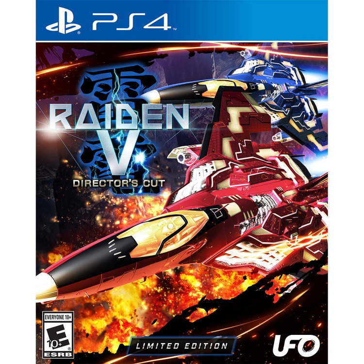 Tommo Raiden V: Directors Cut Limited Edition With Soundtrack CD Playstation 4 [PS4]