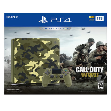 Sony PlayStation 4 Limited Edition Call of Duty: Wwii Bundle, Black