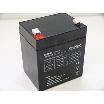 PowerStar Replacement Battery for Casil Ca1240 Alarm Control System Battery High Capacity - 3 Year Free Replacement Warranty