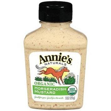 ANNIE'S NATURALS [Gluten Free] Mustard-Horseradish/Gf (Organic) 9 Oz [1 Pack]